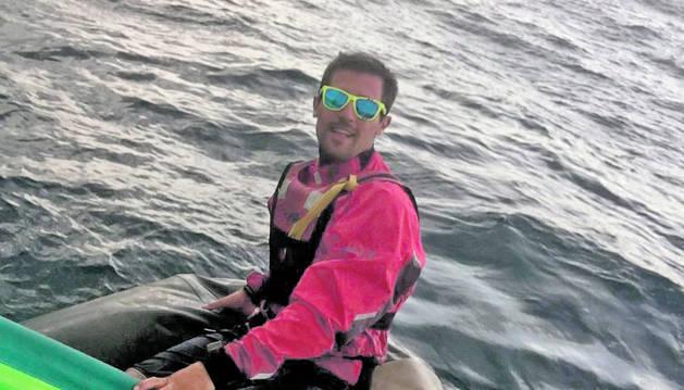 Nil Castellví gaudeix de la navegació