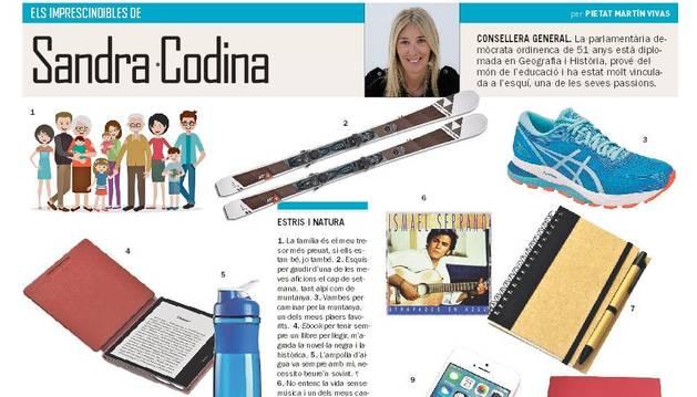 Els imprescindibles de Sandra Codina