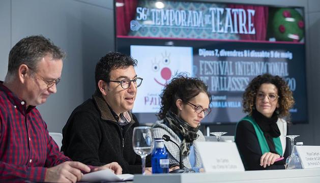 Presentació de la 56a Temporada de teatre conjunta d'Andorra la Vella i Sant Julià de Lòria
