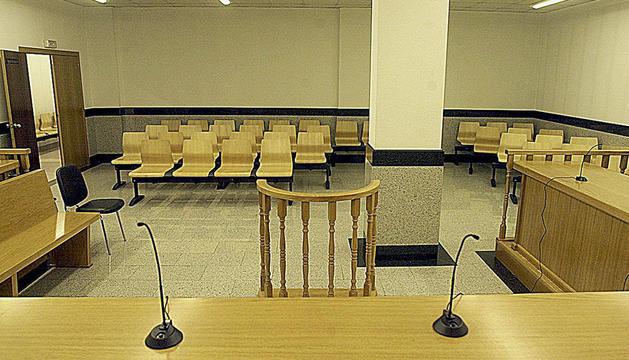 Sala tres del Tribunal de Corts