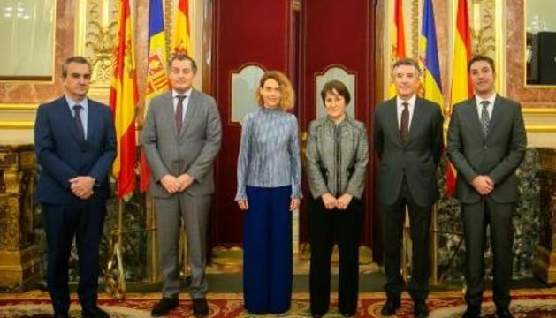 La presidenta delCongrés i la síndica general.