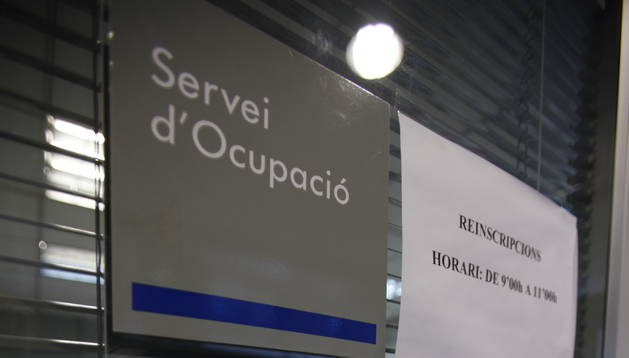 Façana del servei d'immigració