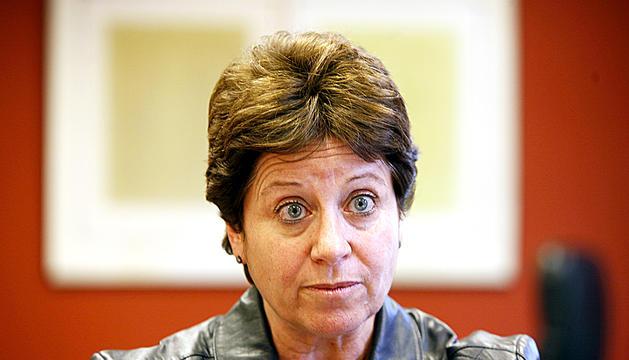 L'expresidenta de la comissió nacional andorrana per a la Unesco, Cristina Rodríguez.