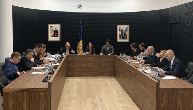La sessió del consell de comú d'Escaldes-Engordany