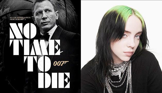 Billie Eilish ha estat l'artista escollida per interpretar el tema 'No time to die'