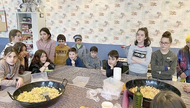 Molts joves van participar en l'activitat del Punt Jove de Canillo
