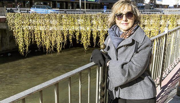 Ana Moreno tenia 40 anys quan va patir l'ictus.