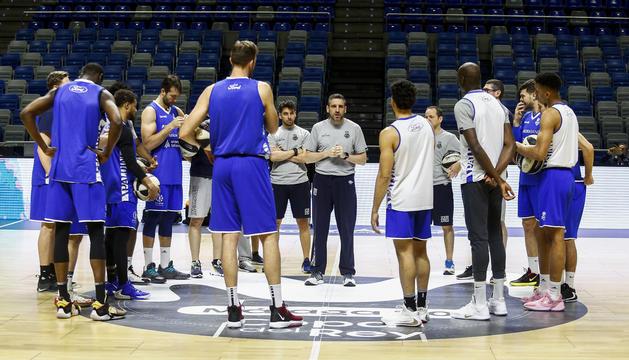 El MoraBanc ha fet l'últim entrenament al Martín Carpena.