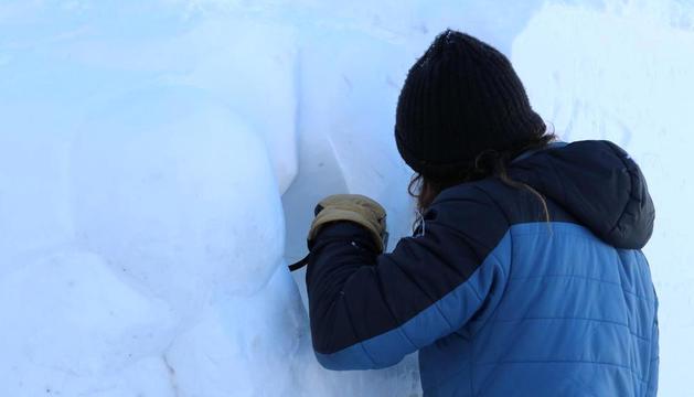 Finalitza el concurs d'escultures de neu
