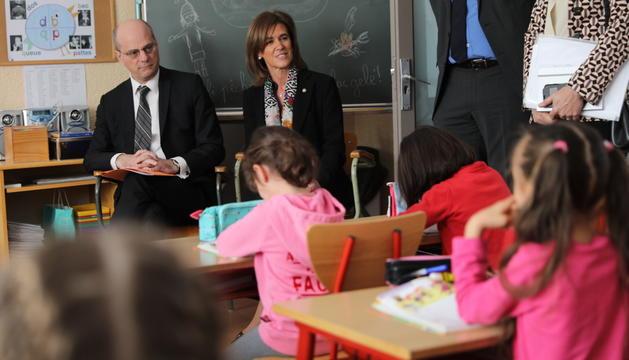 El ministre d'educació francès