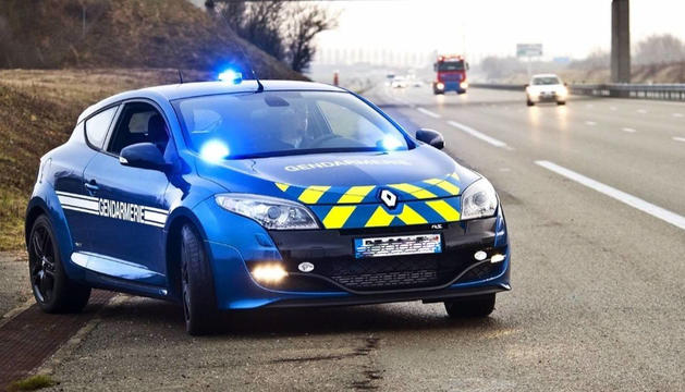 Un cotxe de la Gendarmeria