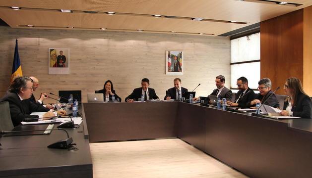 El comú d'Ordino ha celebrat avui la sessió per aprovar el pressupost