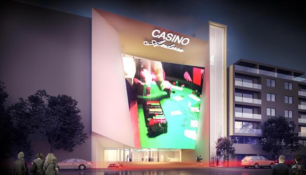 Simulació del Casino de les Valls presentat per Jocs SA.
