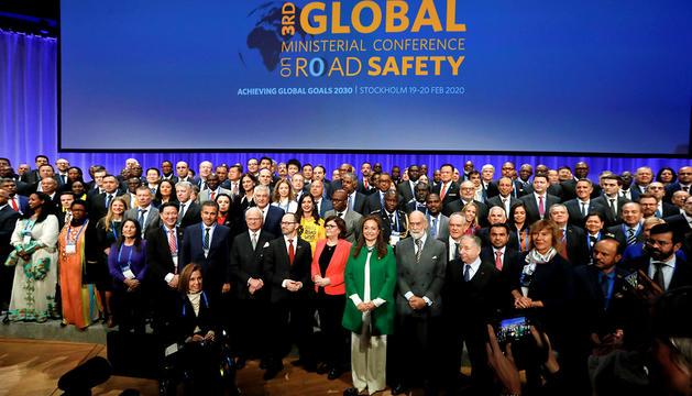 Torres, en una conferència mundial de seguretat viària