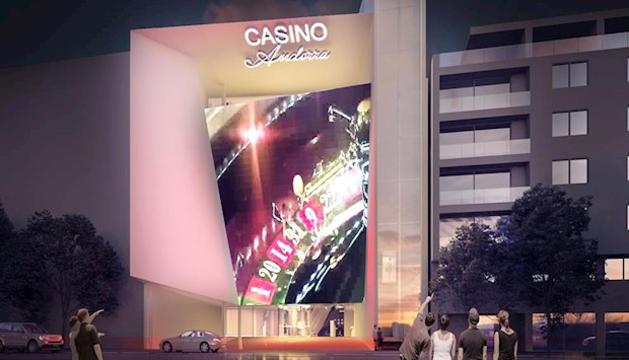 Imatge virtual del casino.