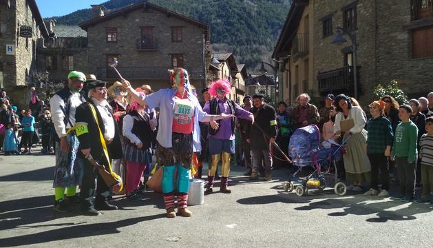 Un moment de la celebració del judici dels contrabandistes avui a Ordino