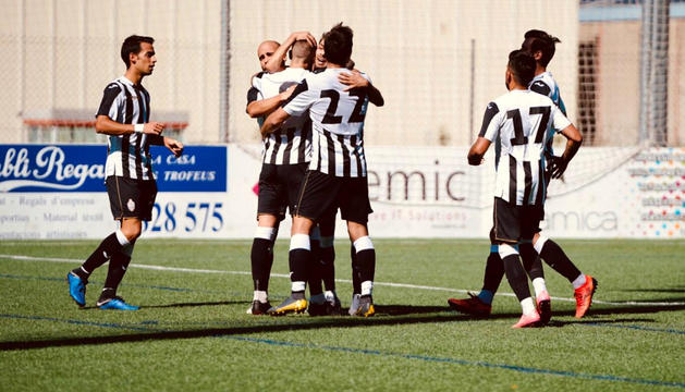 La UEEngordany, durant un partit d'aquesta temporada a la Lliga Multisegur Assegurances.