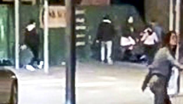 Fragment del vídeo de la batussa.