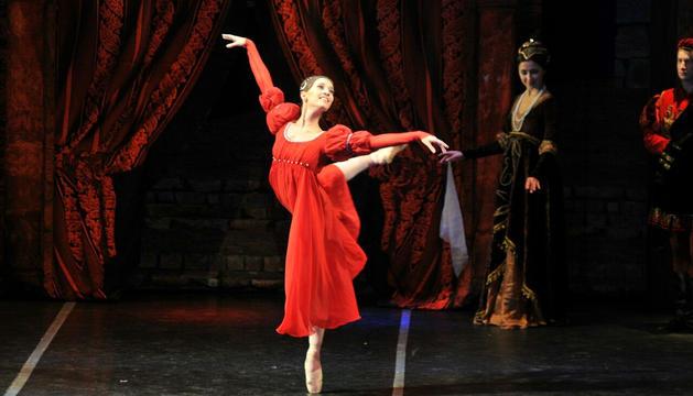 El Ballet de Moscou intepretant 'Romeu i Julieta'.