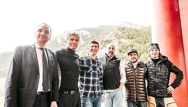 Serracanta, Hale-Woods, Ajona, Tomàs, Navarro i Turdell, ahir al CEOd'Ordino.