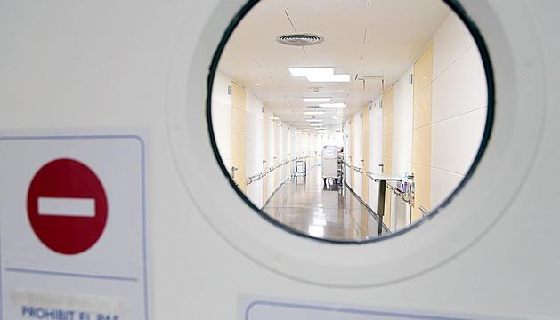 L'ala de la segona planta de l'hospital.
