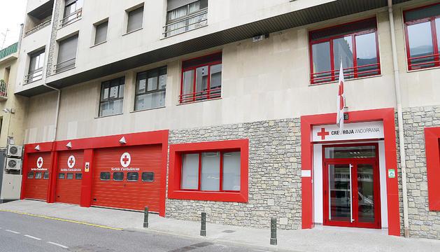 La seu central de Creu Roja a Andorra la Vella.
