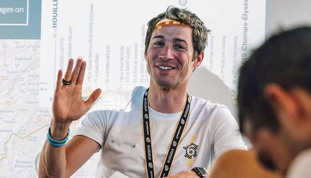 El director esportiu de l'Ineos, Nicolas Portal