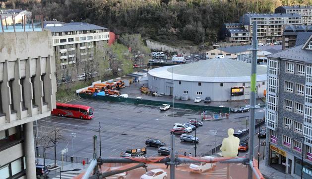 L'aparcament de davant de Govern serà l'escenari del Cirque du Soleil durant dos anys