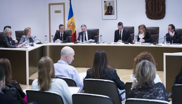 Sessió de comú d'Andorra la Vella aquest matí