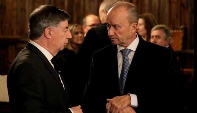 Casadevall i Rosell durant el nomenament de la fiscal