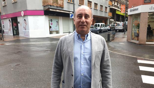El candidat d'Units pel Progrés d'Andorra (UPA) a les darreres eleccions generals, Alfons Clavera.
