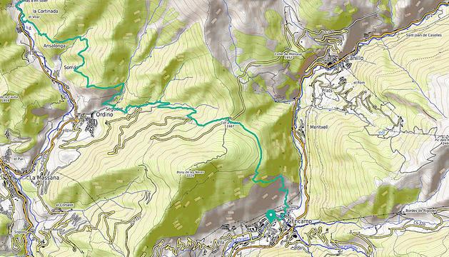 'Track' de la ruta
