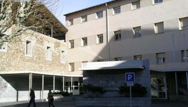 Façana del Sant Hospital de la Seu d'Urgell