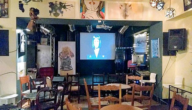La Fada Ignorant Cafè Teatre, ahir a la tarda.