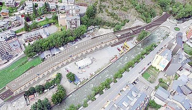 Projecte del vial de Sant Julià.