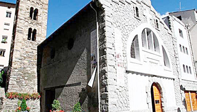 Església de Sant Julià i Sant Germà, a Sant Julià de Lòria.