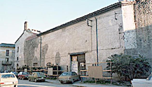 Biblioteca de Sant Agustí  fa uns anys.