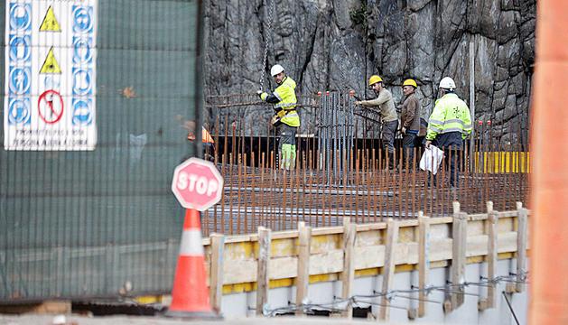 La construcció d'obra nova transmesa va caure l'any passat.