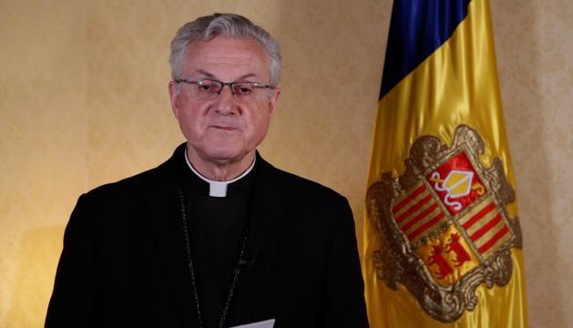 L'arquebisbe d'Urgell i copríncep, Joan-Enric Vives