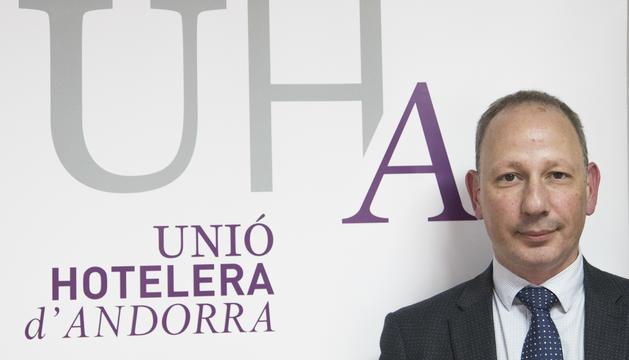 El president de l'UHA, Carlos Ramos, en una imatge d'arxiu