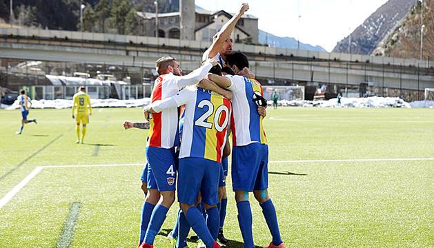 L'FC Andorra va guanyar l'Oriola en l'últim duel disputat.