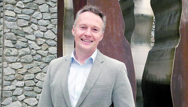 El conseller general, Ferran Costa