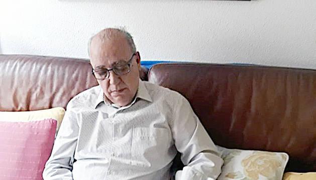 El President de la Federació d'Escacs (FEVA), Francesc Rechi