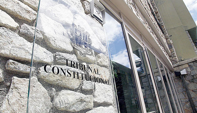 Les dependències del Tribunal Constitucional.