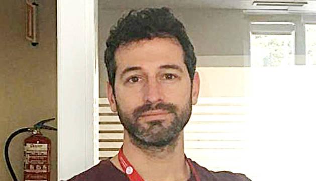 L'investigador Marc Corbacho.