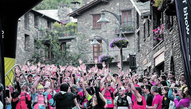 Edició anterior de l'Andorra Ultra Trail Vallnord.