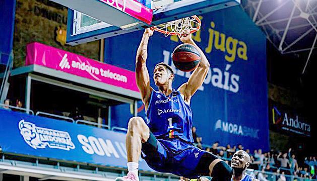 Tyson Pérez ha estat un dels jugadors revelació de la temporada a la Lliga ACB