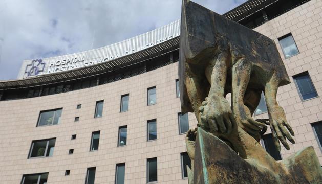 Façana de l'Hospital Nostra Senyora de Meritxell