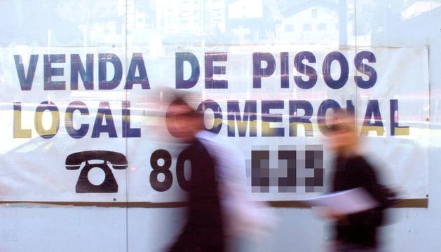 Imatge de la venda d'un local comercial.