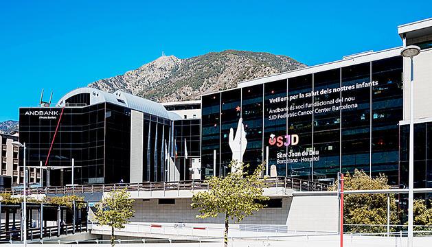 La seu d'Andbank a Andorra.